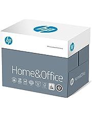 HP Home and Office Carta, Formato A4, 107 Micron, Risma 500 Fogli, Certificata ECF, PEFC ed Ecolabel, Cellulosa, Bianco, Confezione da 5 Pezzi