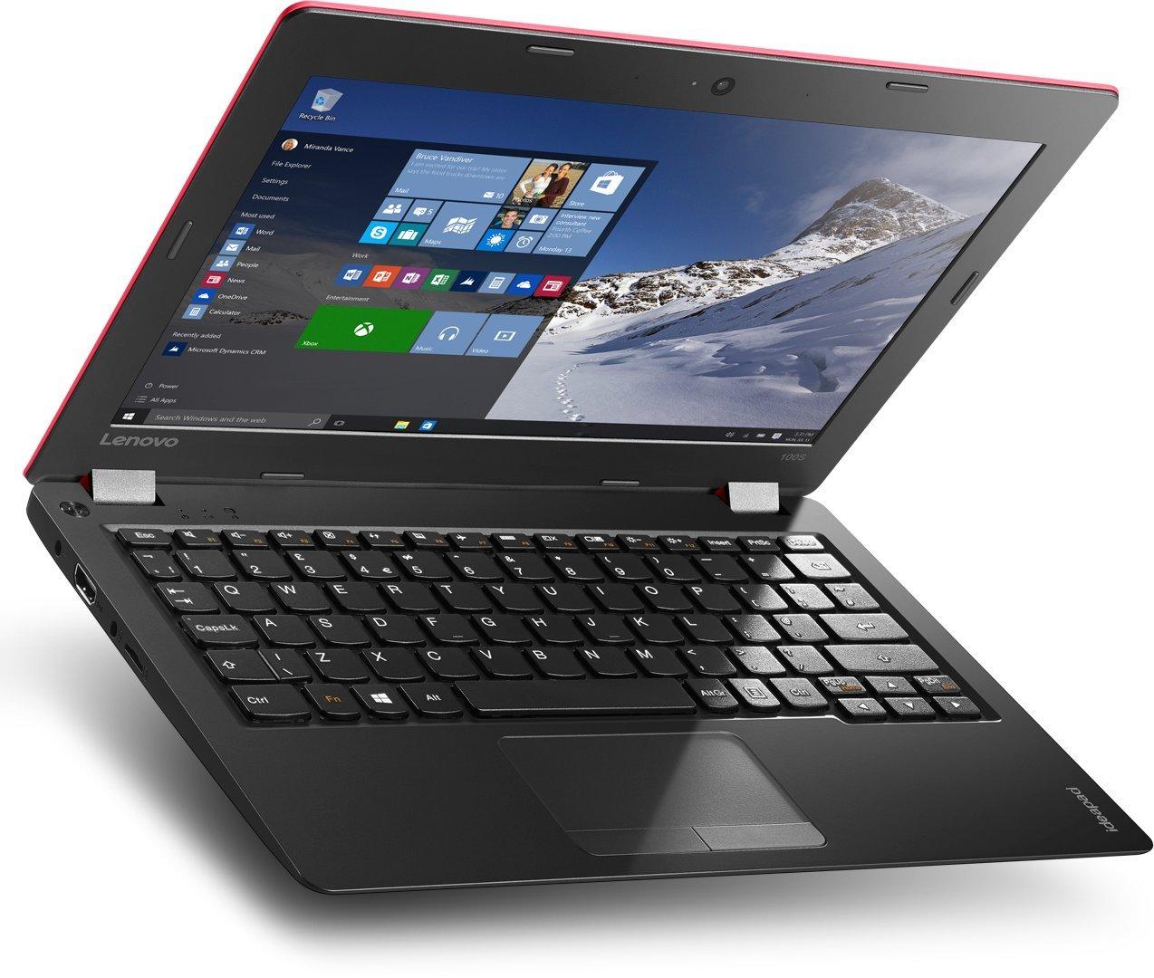 Lenovo 100S-11IBY - Ordenador portátil, Pantalla 11,6 Full HD Matt, Intel Atom Z3735F, 2 GB RAM, Disco Duro 32 GB SSD, HD TN GL Slim, Windows 10 Home ...