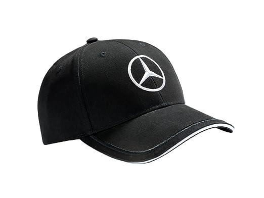 Mercedes-Benz Gorra Negro, 100% Algodón: Amazon.es: Ropa y accesorios