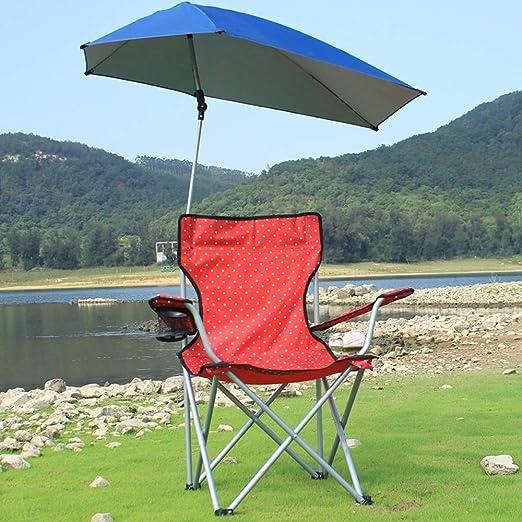 Lcxligang Silla de Playa Plegable, Juego de Silla de Camping ...