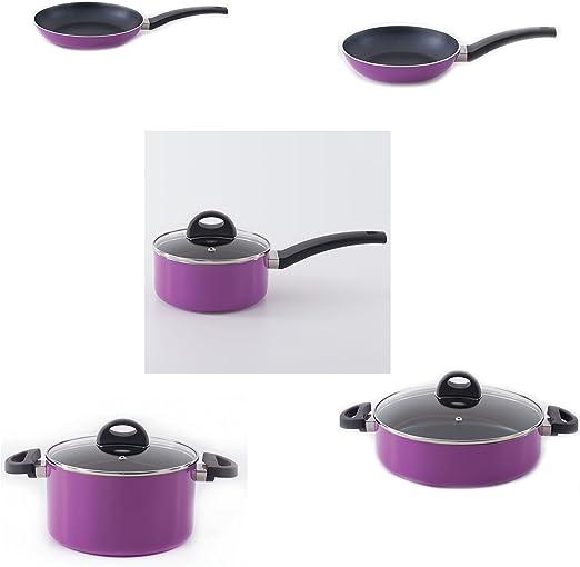 Berghoff Eclipse – Juego de batería de cocina antiadherente