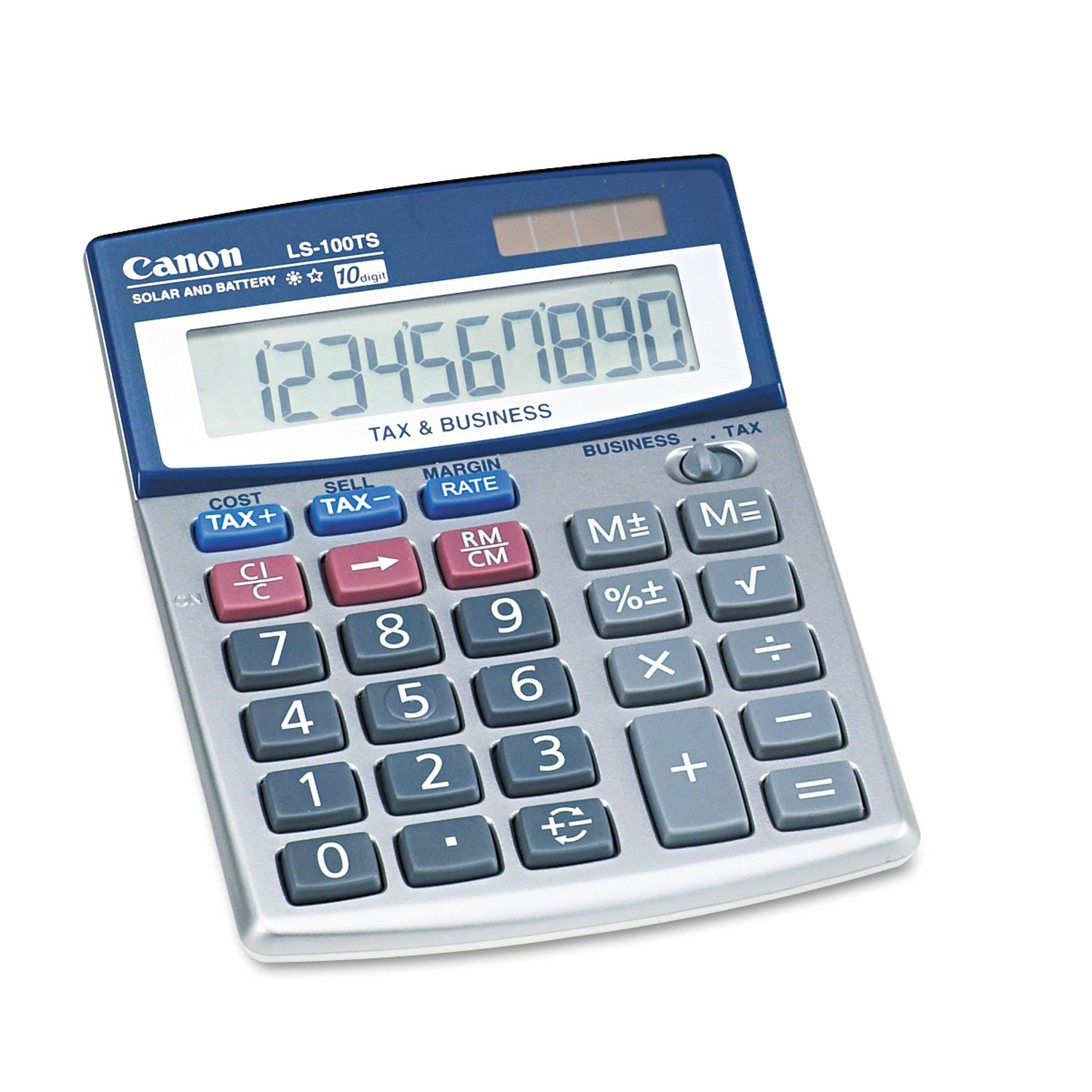 Canon 5936A028AA LS-100TS Portable Business Calculator 10-Digit LCD