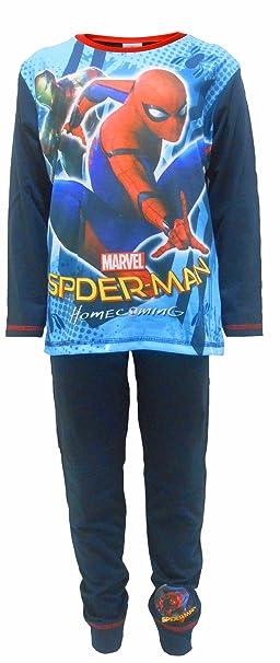 Spiderman & Iron Man Homecoming Boys Niños Pijamas 4-5 Años