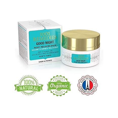 1001 Remedies Crema Ayuda para Dormir Good Night– Remedio Orgánico Relajante para la Ansiedad,