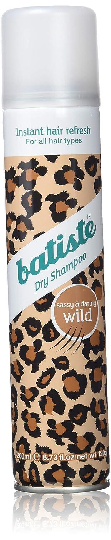 Batiste Dry Shampoo, Wild Fragrance, 6.73 Ounce 5010724527559