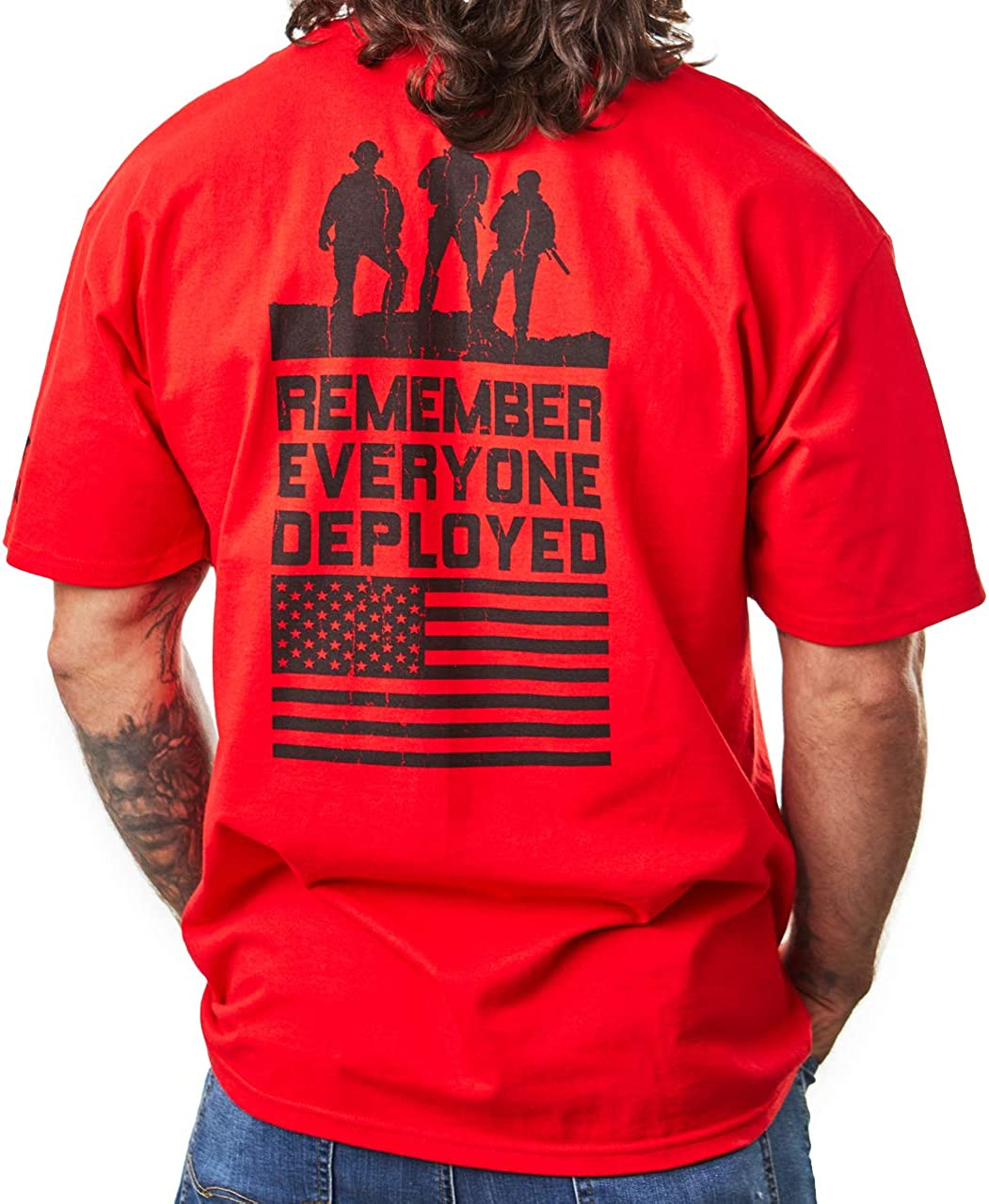 Bone Head Outfitters R.E.D. Soldiers-Remember Everyone Deployed R.E.D. Friday T-Shirt