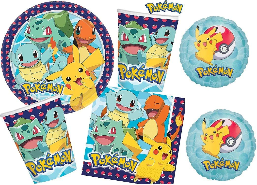 Addobbi per feste di compleanno Pokémon
