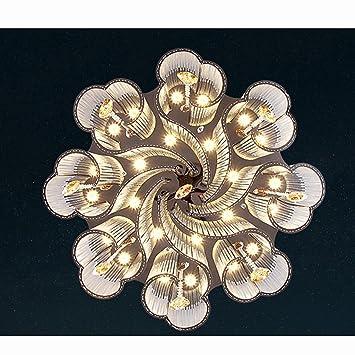 GYD Moderne minimalistische kreisförmige Kristalllampen ...