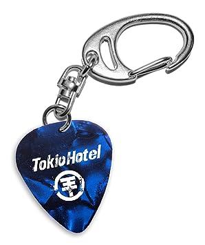 Tokio Hotel Band Logo Blue Keyring Llavero de púa de ...
