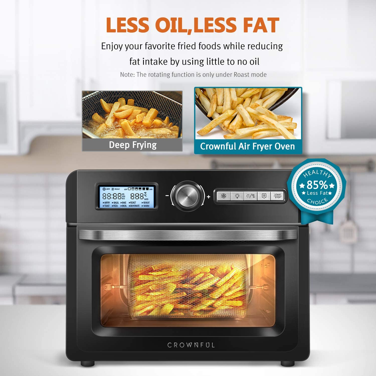 Healthy food with best air fryer for family of 4