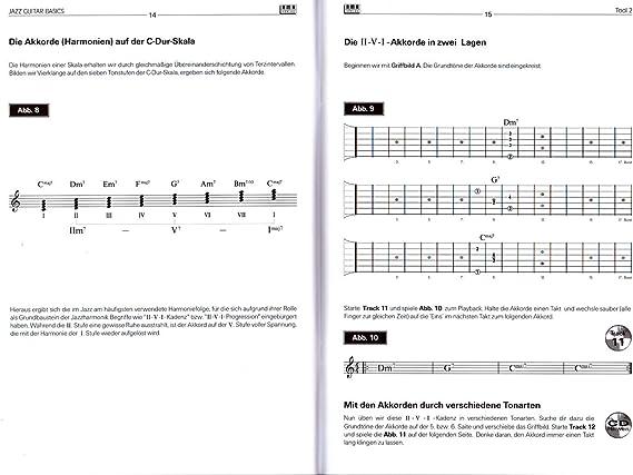 Jazz Guitar Basics – La práctica Iniciación en la guitarra jazz ...