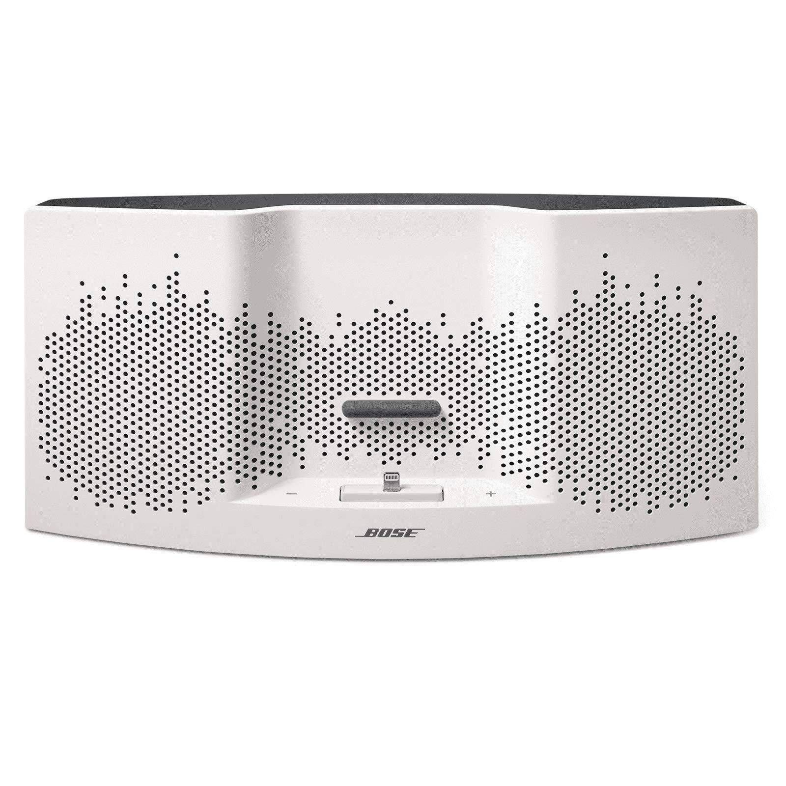 Bose SoundDock XT Speaker (White/Dark Gray) (Renewed) by Bose