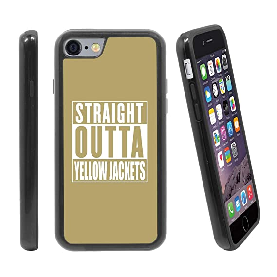 the latest 6cacb 6f172 Amazon.com: [Straight Outta Yellow Jacket (Team Color)] for Apple ...