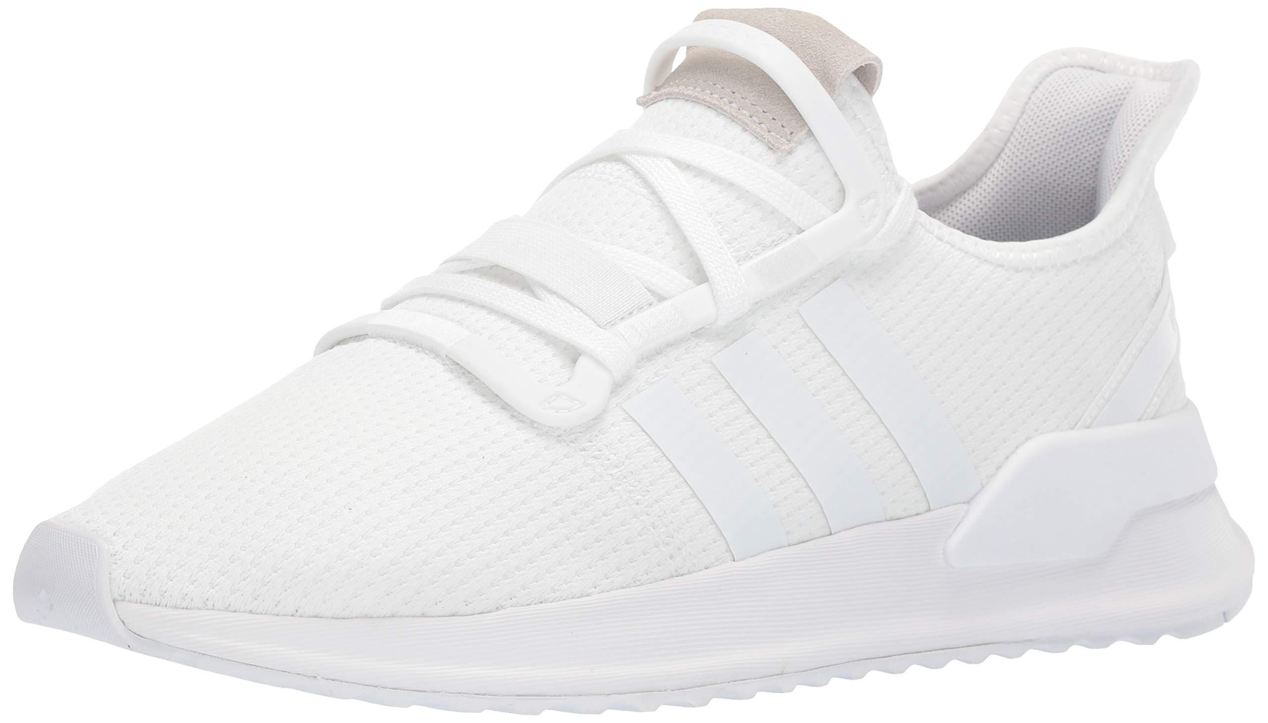 adidas Originals Men's U_Path Running Shoe, White/Black, 4 M US