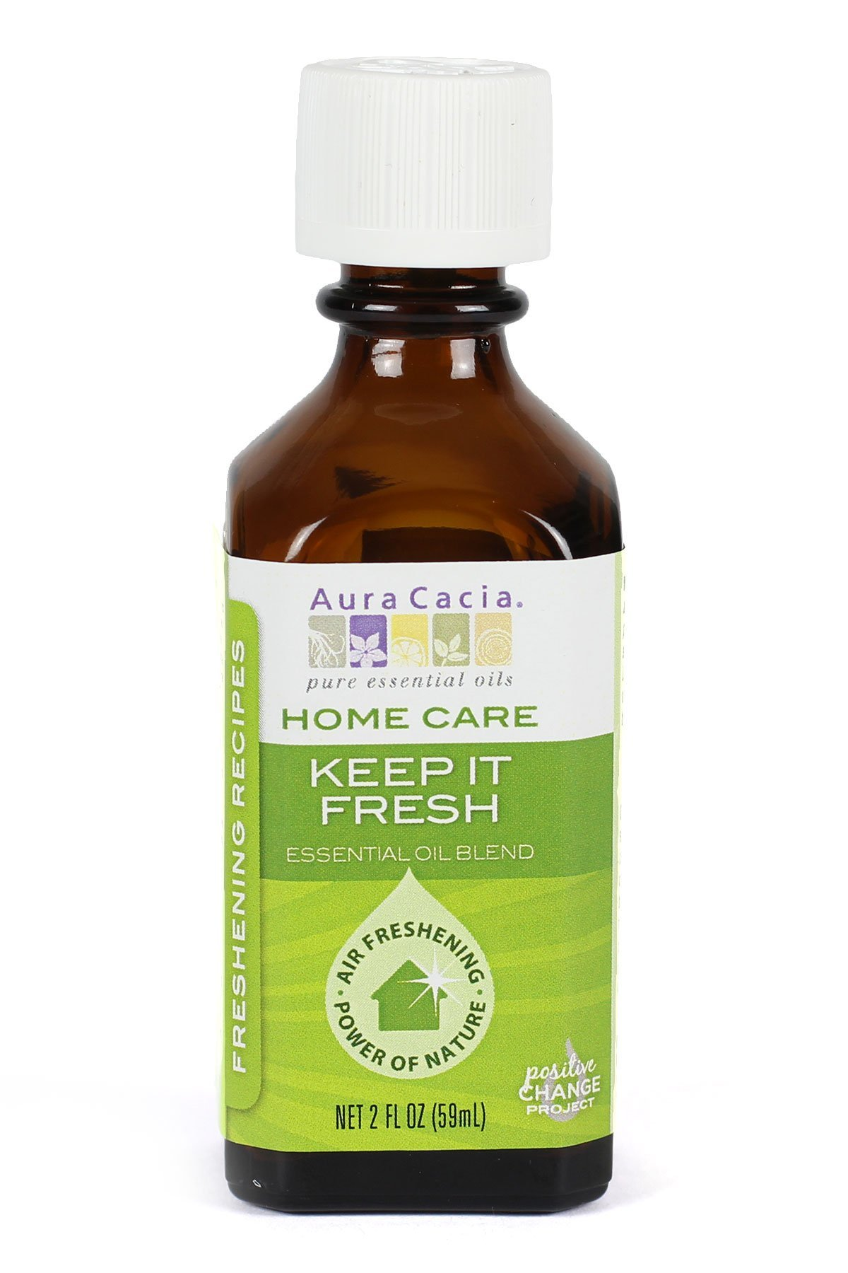 Aura Cacia Keep it Fresh Essential Oil Blend for Home Care, 2 Fluid Ounce by Aura Cacia (Image #1)