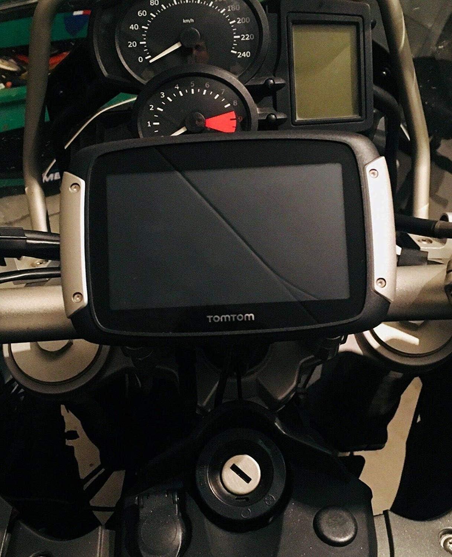 Mit Tomtom Rider 410 450 550 Kompatible Halterung Für 20 Mm 22 Mm 28 Mm 32 Mm 33 Mm Lenker Auto