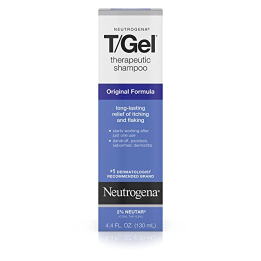 The Best Shampoo for Sensitive Scalp - Neutrogena T/Gel Therapeutic Shampoo Original Formula Review