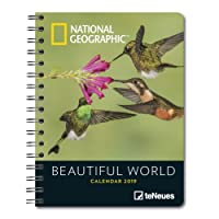 National Geographic Beautiful World 2019 Diary