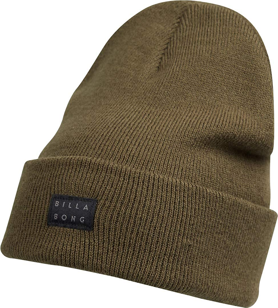 Billabong Knitted Cuff Beanie ~ Disaster Military