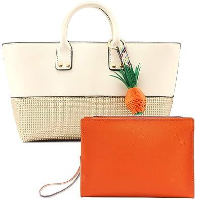 625323eacb Fashion Designer Top-Handle Handbag for Women - Elegant PU Leather Medium  Zip Cross-
