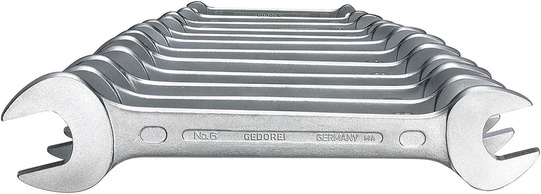 Gedore 6-5,5X7 6063750 Double cl/é mixte D3110 5,5x 7,0mm Argent 5.5 x 7