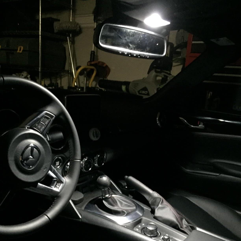Alla Lighting 800lm Xtreme Super Bright Festoon 31MM DE3175 DE3022 LED Bulbs Replacement for Cars Trucks Interior Map Dome Trunk Courtesy Lights DE3022 6000K Xenon White