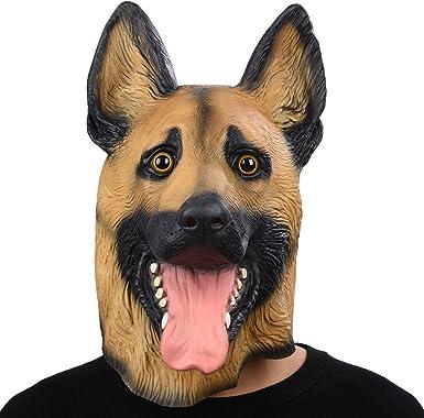 Eagles Underdog Mask Dog Head German Shepherd Same Day Shippingfrom Philadelphia