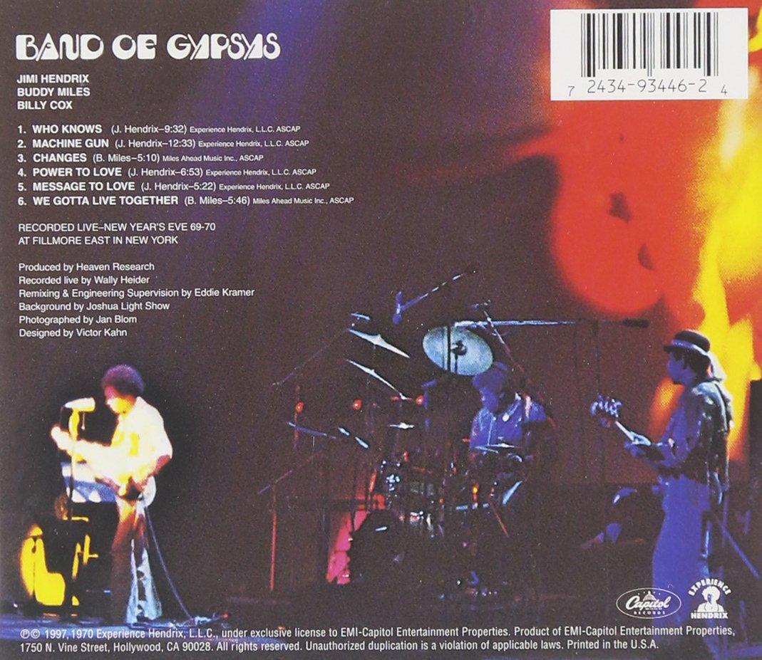 Band of Gypsys by Capitol (Image #2)