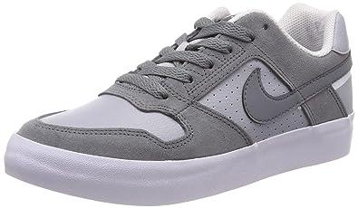 half off 9bf77 9d322 Nike SB Delta Force Vulc Chaussures de Skateboard garçon, Gris Cool Wolf  Grey-White