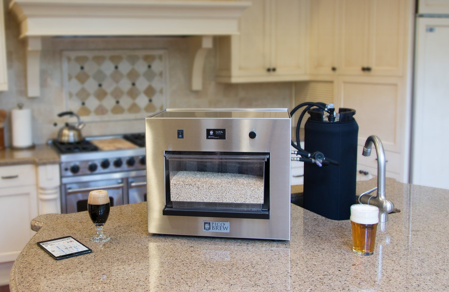 PicoBrew Zymatic - Automatic All-Grain Craft Beer Brewing Appliance For Your Brewery or Home Brewing - Brew From A Recipe Library with Thousands of Proven Beers or Make Your Own