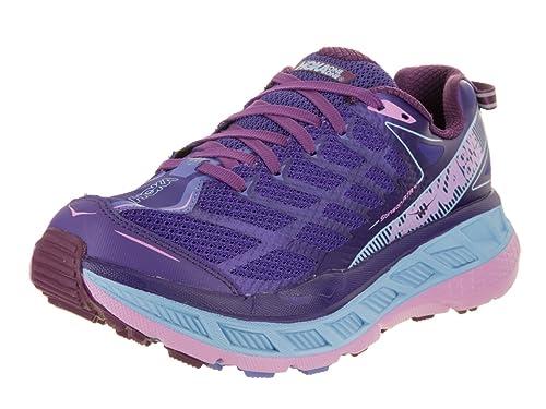 d73d864be68 Hoka One One Women s Stinson ATR 4 Deep Blue Sky Blue Running Shoe 10 Women