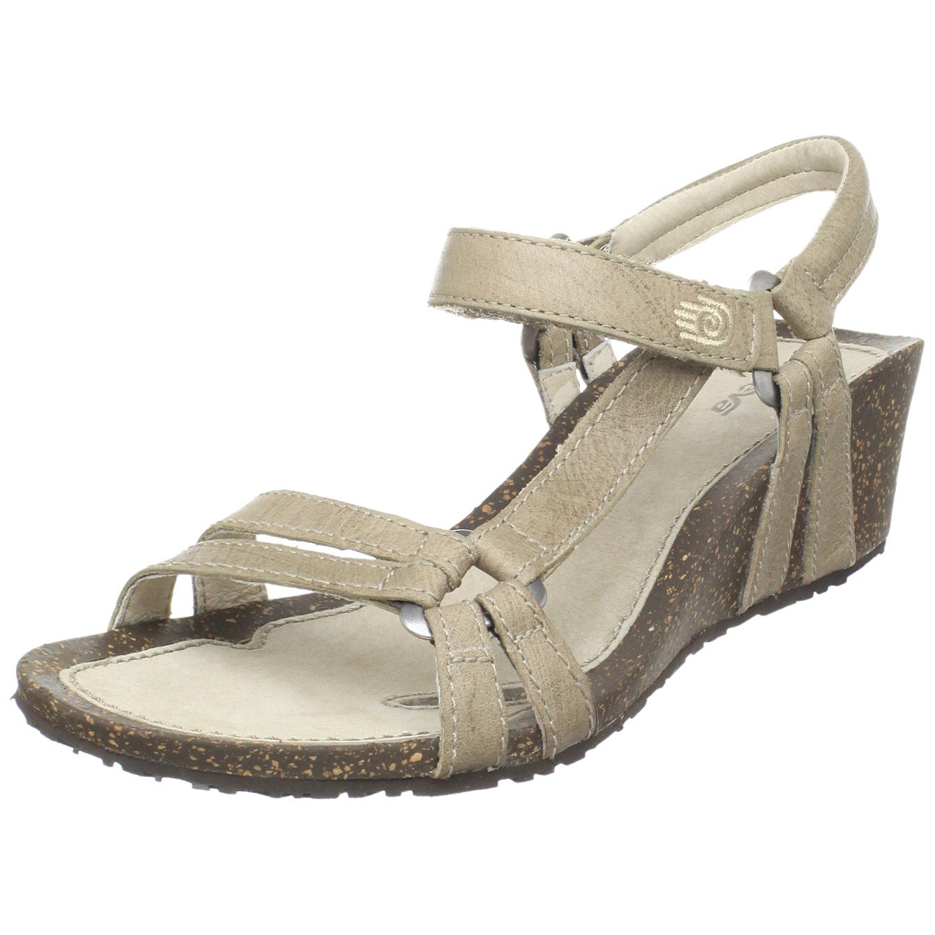 Teva Women's Ventura Cork 2 Wedge Leather Sandal B003VPAB3M Parent