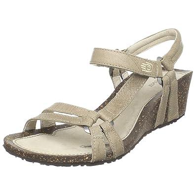 Teva Women's Ventura Cork 2 Wedge Leather Sandal,Pumice Stone,7 ...