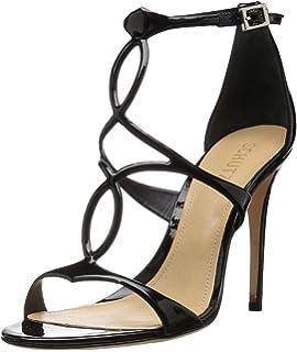 c002a74b732b Amazon.com  SCHUTZ Thainy Bright Rose Pink Suede Stiletto Sandals ...