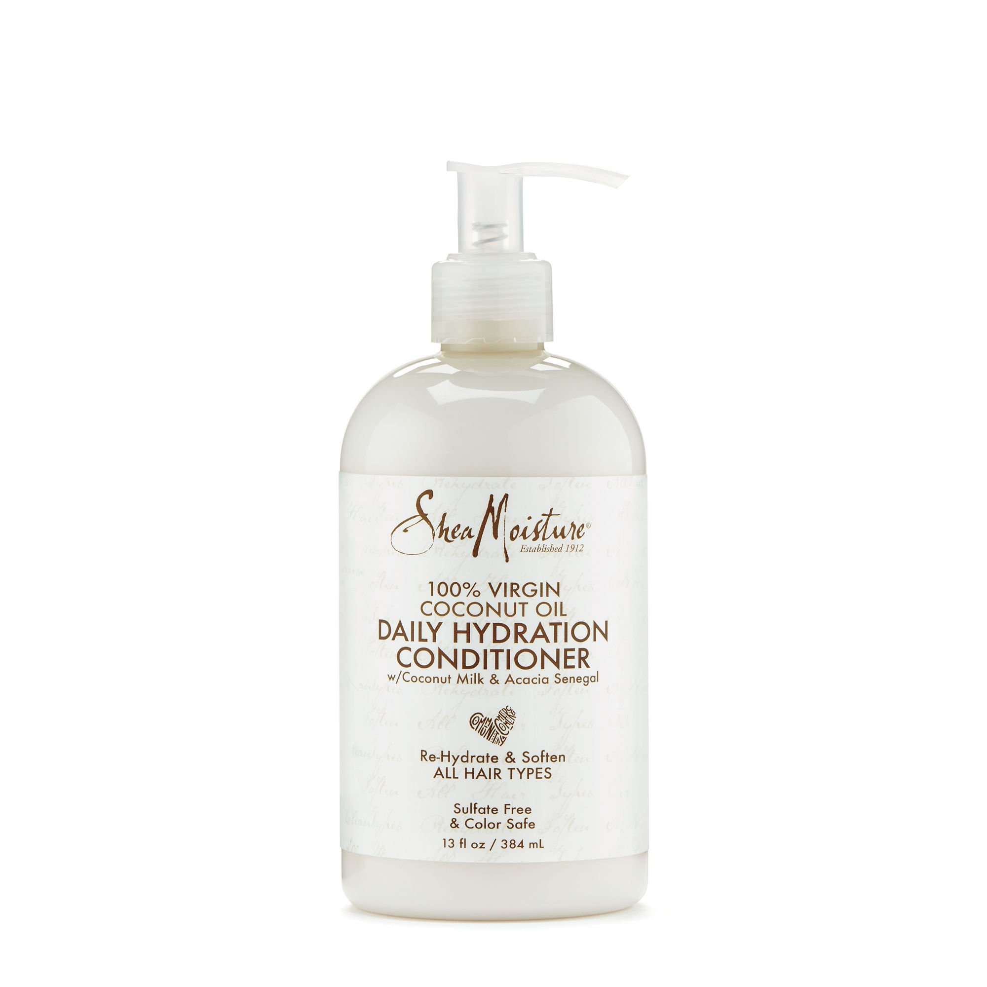 SheaMoisture 100% Virgin Coconut Oil Daily Hydration Conditioner, 13 Ounce