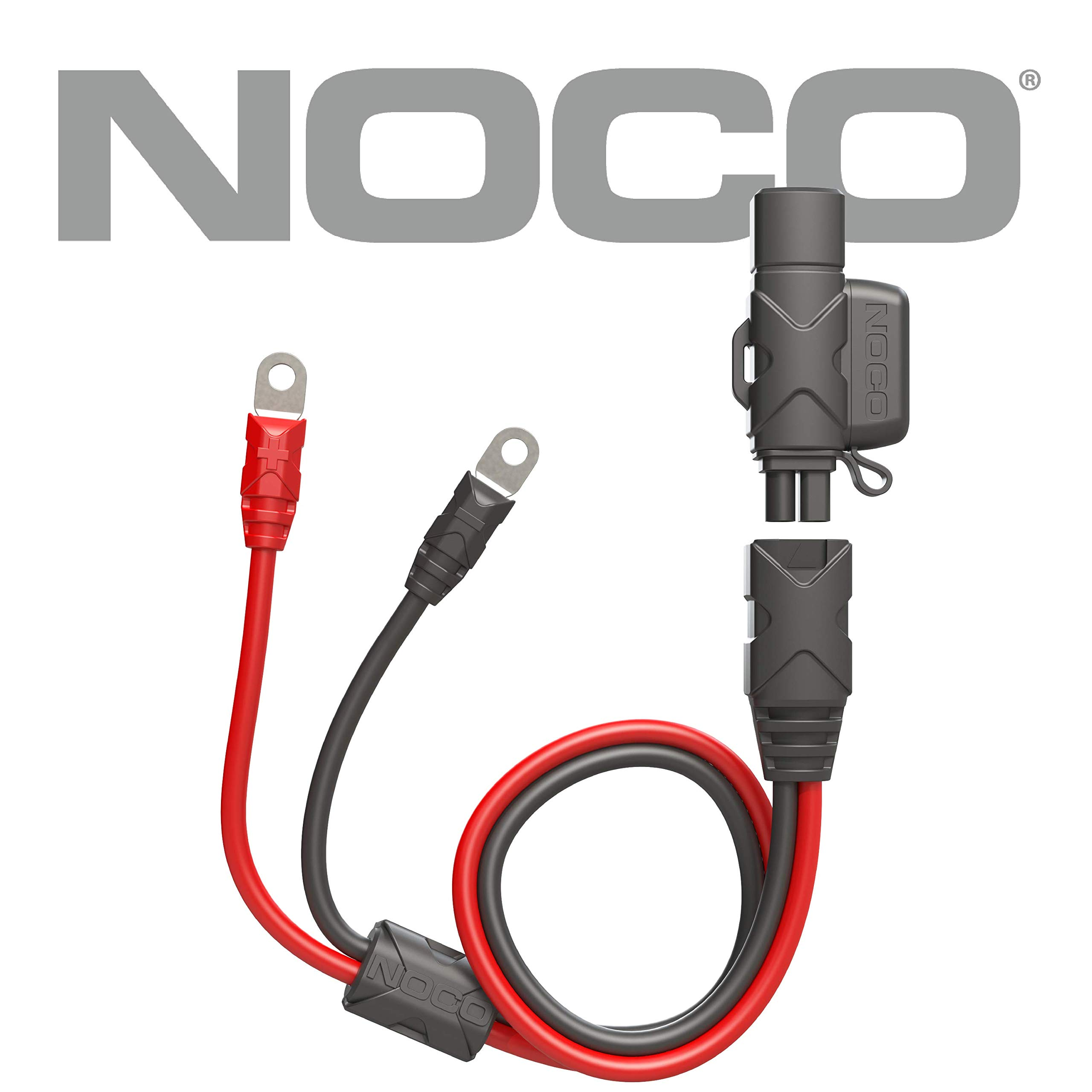 NOCO GBC007 Boost Eyelet Accessory Cable with X-Connect Adapter to Allow Charging Genius Battery Chargers by NOCO