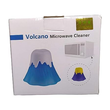 Volcán limpiador de microondas horno de microondas vapor limpiador ...