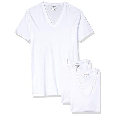 DKNY Cotton V-Neck T-Shirt-Multipack at Men's Clothing store