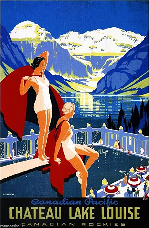 16x24 1930s Cruise the Great Lakes Vintage Style Ship Travel Poster