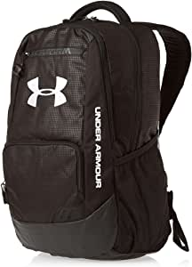 Amazon.com: Under Armour Hustle Storm Backpack Black/Steel