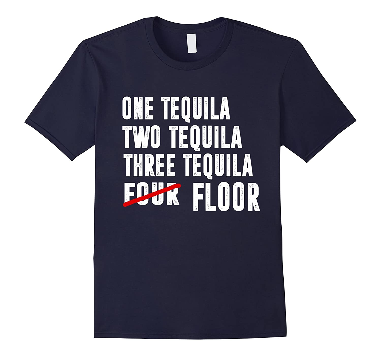 One tequila two tequila three tequila four floor shirt-Vaci