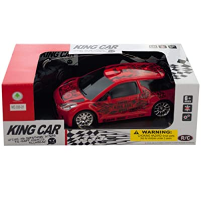 Kole Imports 4 Direction Remote Control Hatchback Race Car: Office Products