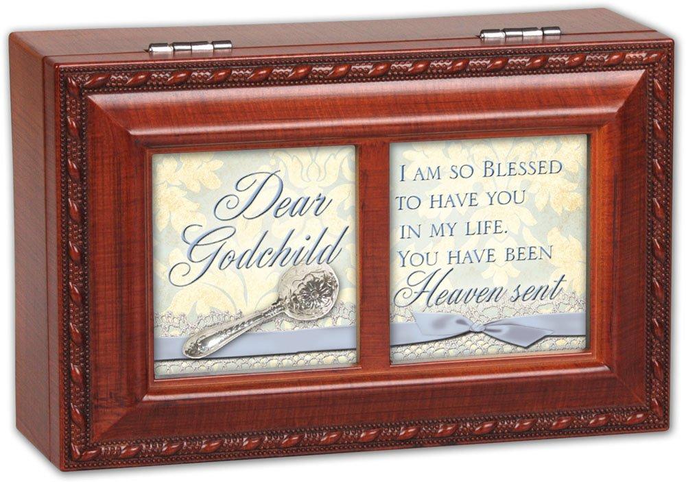 柔らかな質感の Cottage Garden Dear Godchild Woodgrain Petite Cottage Music Box Jesus/ Garden Jewelry Box Plays Jesus Loves Me by Cottage Garden B00BRX1NS2, クーテ:ef2bfd95 --- arcego.dominiotemporario.com
