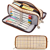 ANGOOBABY Large Pencil Case Big Capacity Pencil Pouch 3 Compartments Pencil Bag for Teen Boys Girls School Students…