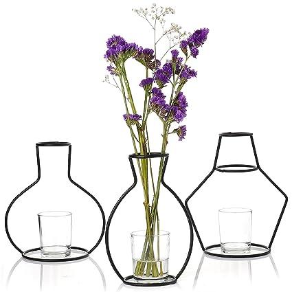 Amazon Greenaholics Decorative Vases Unique Iron Vase