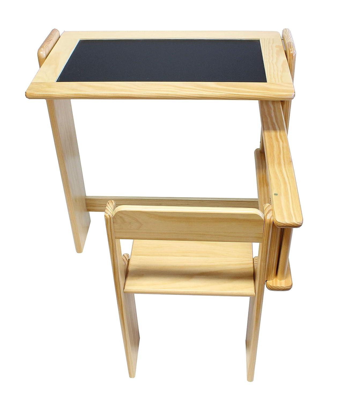 Obique Muebles para niños 2 en 1 Juego de Escritorio y Silla ...