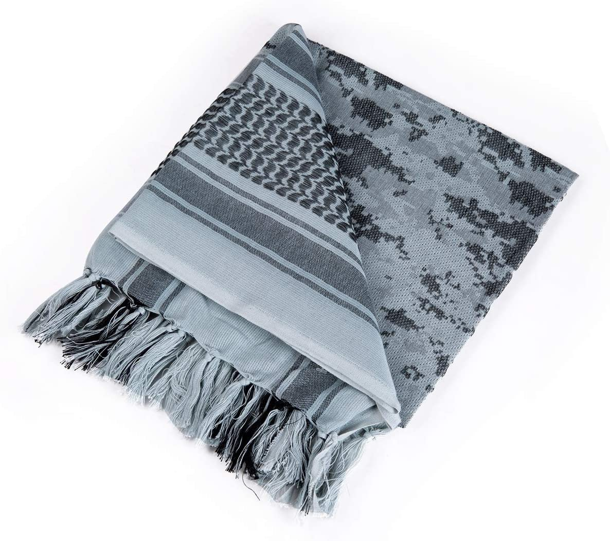 FREE SOLDIER 100/% Cotton Military Shemagh Mens Scarves Tactical Desert Scarf keffiyeh Wrap for Women
