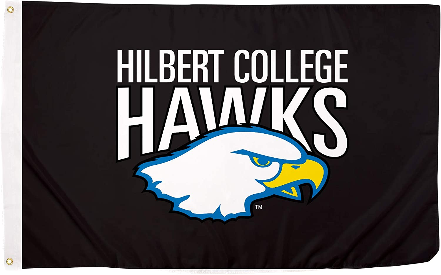 Desert Cactus Hilbert College Hawks NCAA 100/% Polyester Indoor Outdoor 3 feet x 5 feet Flag