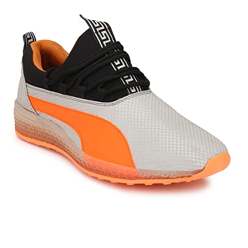 UCB Orange Canvas Sneaker at Amazon