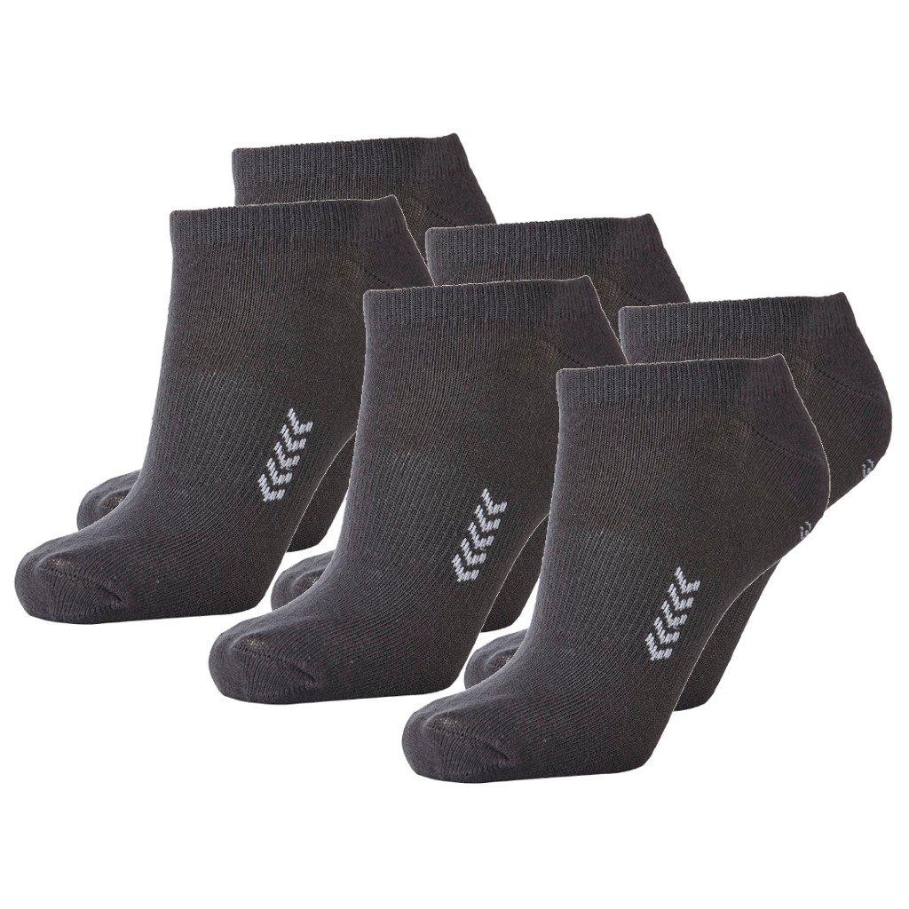 Hummel 6 Paar Sneaker Socken fü r Damen und Herren - viele Farben - Grö ß en 36-48 22129